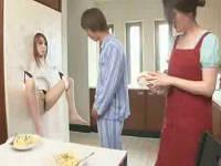壁マ○コに朝立ちのままハメる生活をしてセックスレスを治療する夫婦