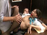 美人社長秘書の時間を止め勝手に顔をベロベロ舐めて猿ぐつわ噛ませハメまくる