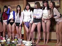 今まで頑なに出演を拒否していた女子社員5名が遂に脱がされた!業務中の社内でいきなり野球拳、尻・乳・マ○コ出して最後はチ○コ挿されまくる