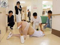 トイレに駆け込む女性たちの時間を止めて膀胱がパンパンになった下半身をヤリたい放題イジりまくりハメまくる変態男たち