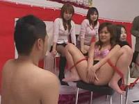女優さんが問題に答えれなかったのでマネージャーの迫ってきたまんちょを舐める