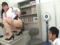 保健室のむっちりボイン女教師が挑発してきたので我慢できずにセックスしまくる