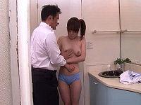 借金苦で連れて来られたむっちり女子が金融会社の社長から風呂場でパンパン突かれハメられまくる