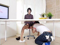 元ミスキャンパス某局看板女子アナがAVデビュー、ニュース中継中に机の下でパンツ脱がされクンニされハメられまくる