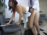女子社員を個室に呼び出しセクハラレイプを撮影する変態上司